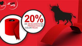 Renova descuenta el 20% en todos sus productos de color rojo