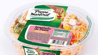 Pierre Martinet lanza su ensalada de pasta con jamón y queso