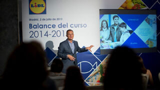 Lidl España facturó 2.700 millones de euros en 2014, el 7% más