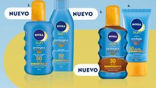 Nivea amplía su gama de productos para el sol