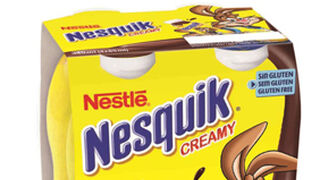 Nuevo Nesquik Creamy para beber