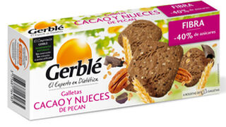 Gerblé presenta sus galletas cacao y nueces de pecan