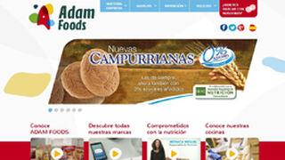 Adam Foods renueva su página web