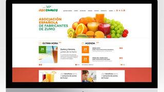 Asozumos estrena nueva página web