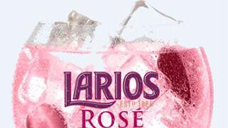 Nueva ginebra premium Larios Rosé