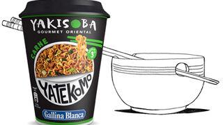 Nuevo Yakisoba Gourmet Oriental de carne de Gallina Blanca