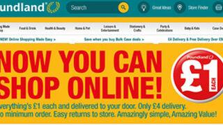 Poundland lanza su tienda online en Reino Unido