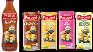 Pascual rediseña el packaging de sus batidos con los Minions