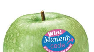 Manzanas Marlene retoma el concurso de las pegatinas premiadas
