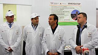 Grupo Fuertes pone en marcha su proyecto en Rusia