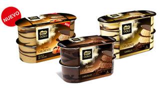 Nueva Mousse Crujiente Nestlé Gold Dulce de Leche