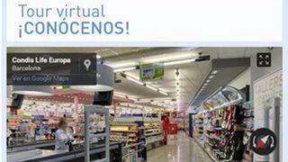 Condis incorpora a su web la tecnología Google Street View