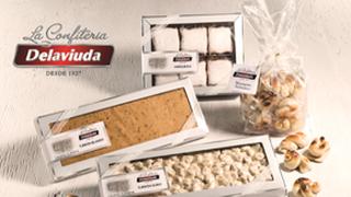 La Confitería Delaviuda presenta su gama de turrones 'Gourmet'