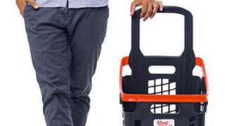 Araven lanza la cesta de la compra monobloque Shop & Roll 65L