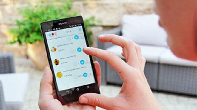 Los consumidores que usan la app de la marca gastan más