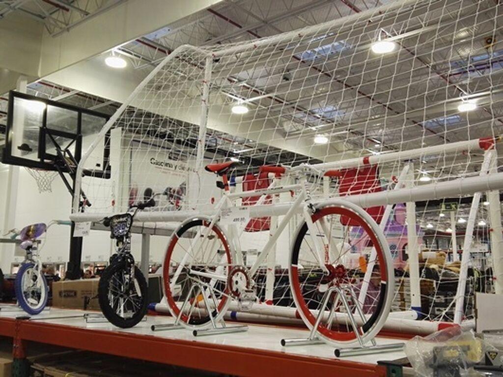 Bicicletas, porterías, etc. gran oferta en material para deportistas