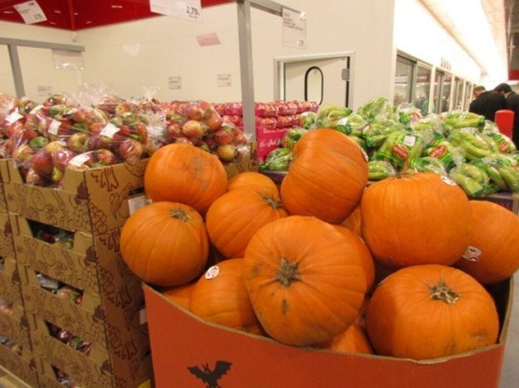 Costco Getafe ya está preparado para Halloween