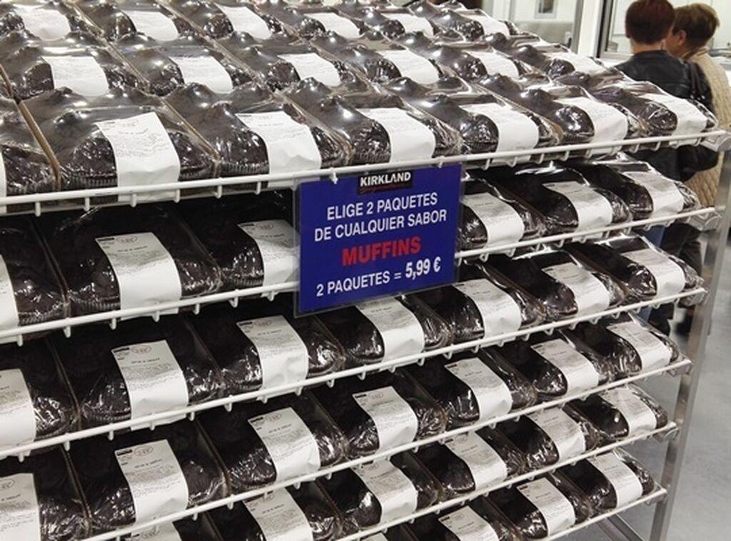 Ofertas en bollería: dos paquetes de muffins a 5,99 euros