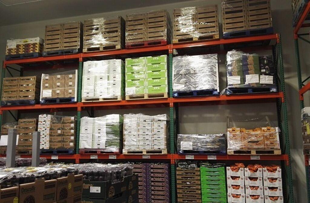 Provisiones de todos los productos almacenados en la propia tienda