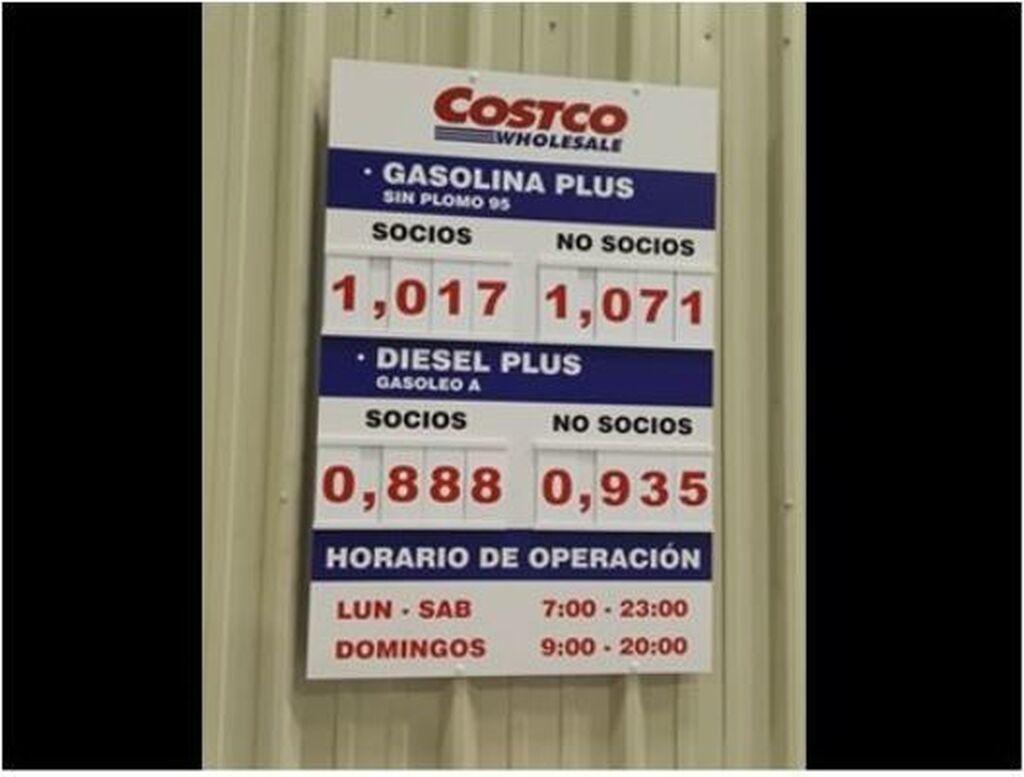 La compañía también cuenta con gasolinera