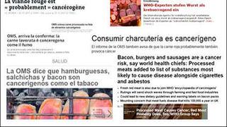 La OMS provoca una crisis mundial sin precedentes en la industria cárnica