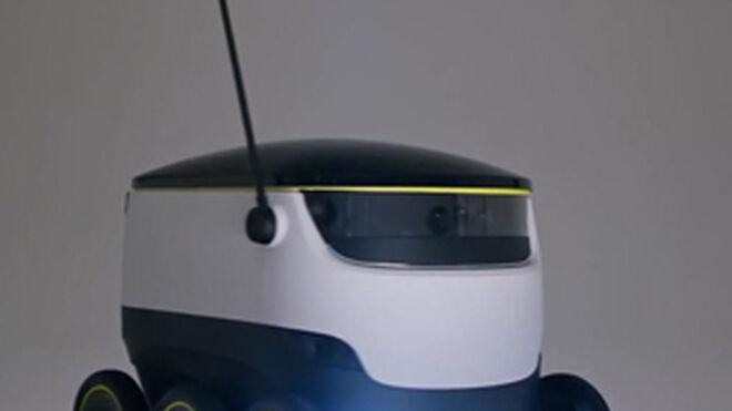 Crean un robot autónomo que lleva la compra del súper a casa