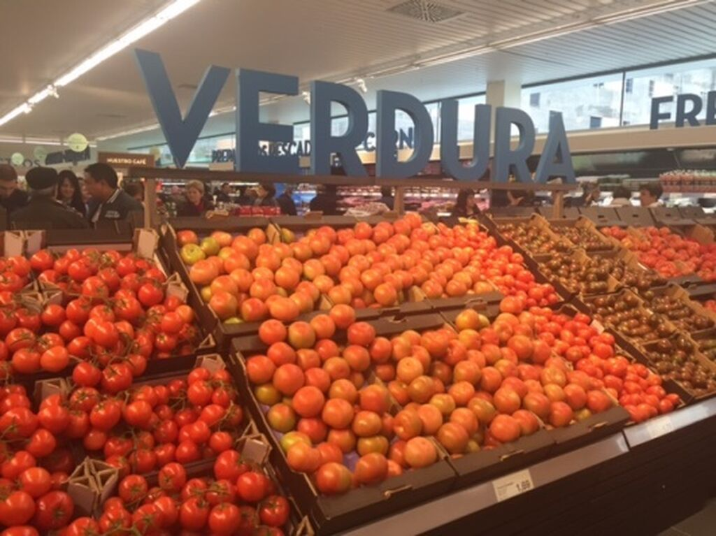 Amplia oferta en verduras