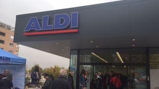 Fotos del supermercado Aldi en Carabanchel (Madrid)