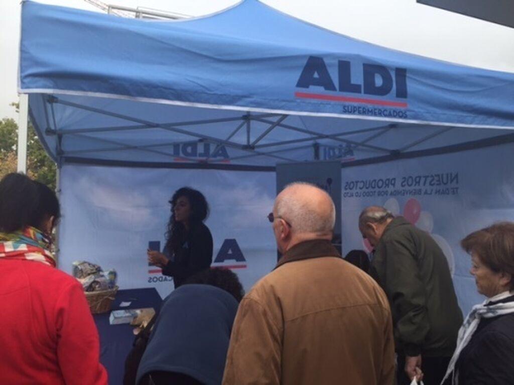 Promoción inaugural para los primeros consumidores de Aldi Carabanchel