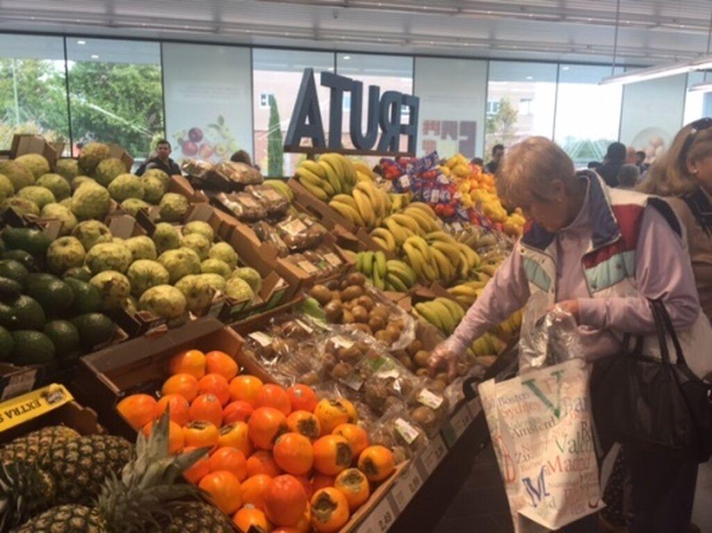La frutería es una de las zonas más potenciadas en Aldi