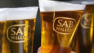 SABMiller ganó el 17% menos en su primer semestre fiscal