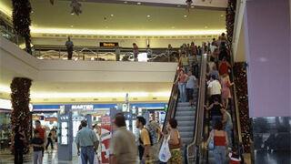 La afluencia a los centros comerciales aumentó levemente en octubre
