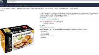 Cascajares comercializa su pavo de Acción de Gracias en Amazon
