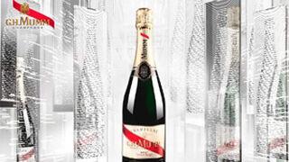 Nueva edición navideña del champagne G.H.Mumm