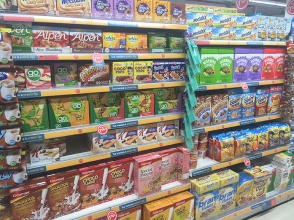 Cereales de desayuno. Muchas de las marcas de Dealz son inglesas