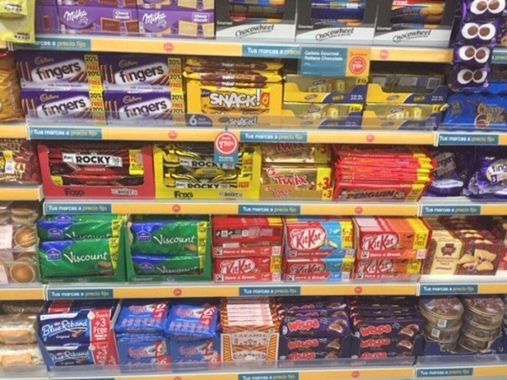 Chocolates y dulces