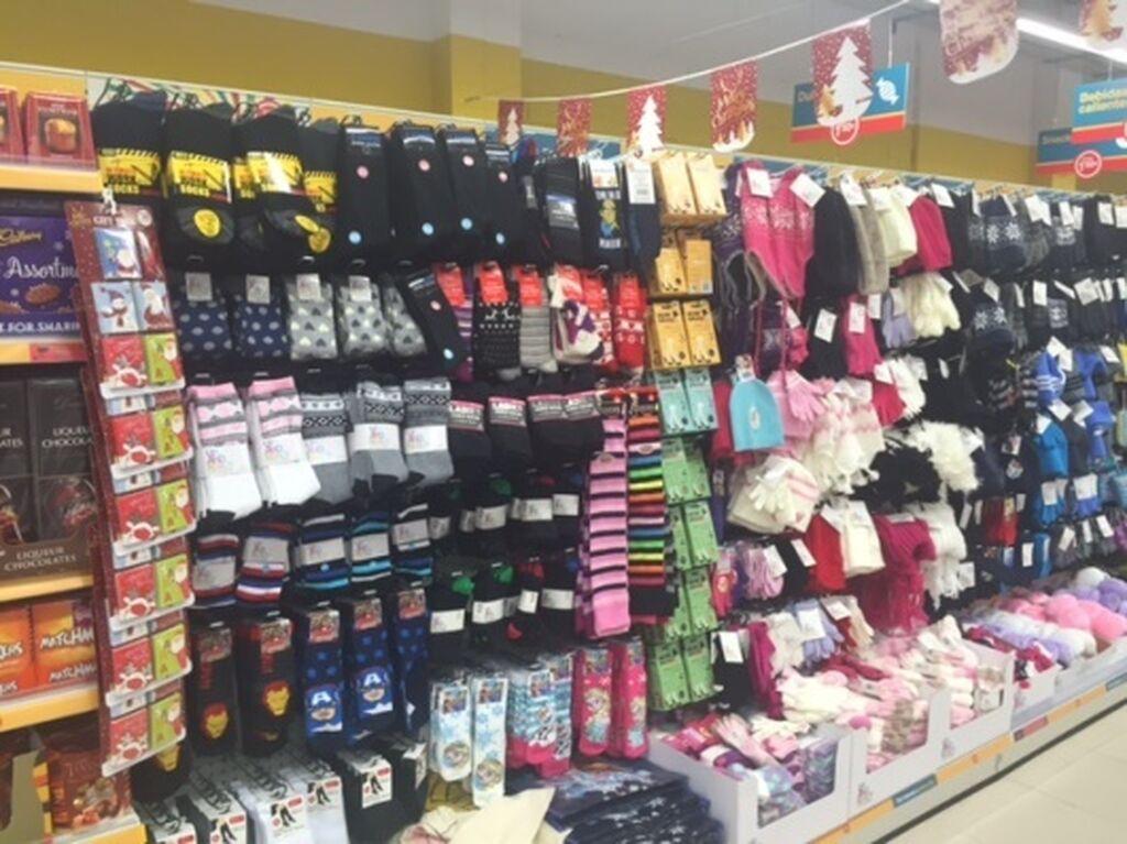 Dealz Islazul también cuenta con surtido de productos textiles