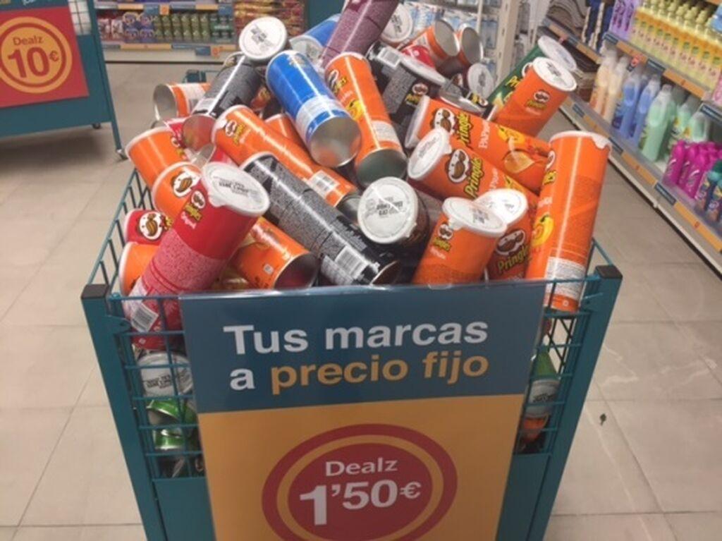Primeras marcas a precio fijo de 1,50 euros