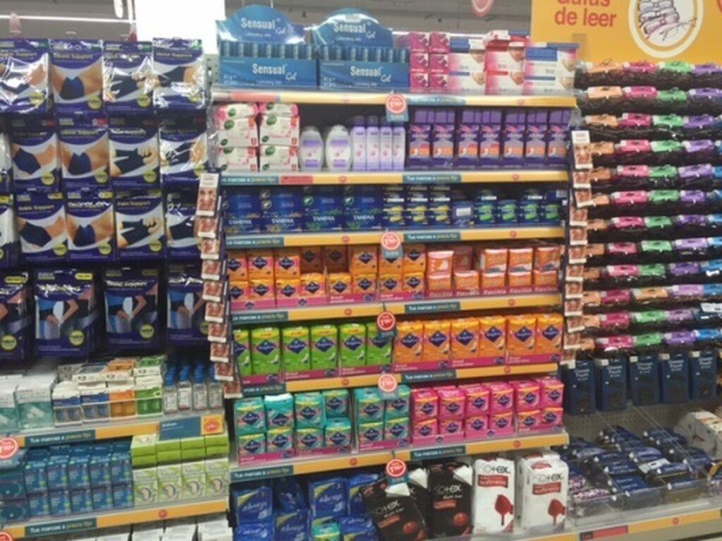 Productos de higiene íntima femenina