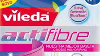 Vileda lanza su bayeta Actifibre que retiene los líquidos sin gotear