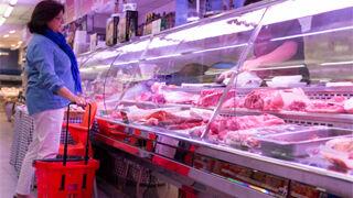 El gasto de los hogares en alimentación bajó el 0,6% en el último año