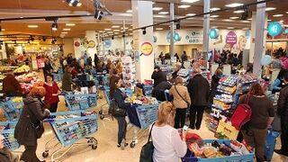 Los centros comerciales recibieron menos visitas en noviembre