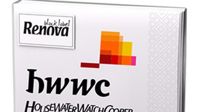 Renova lanza las servilletas HouseWaterWatchCooper