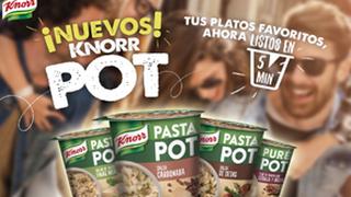 Knorr presenta los nuevos Pots, platos listos en 5 minutos