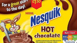 """Nesquik deja de ser """"genial"""" para empezar el día en Reino Unido"""