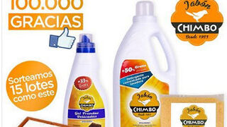 Jabón Chimbo supera los 100.000 fans en Facebook