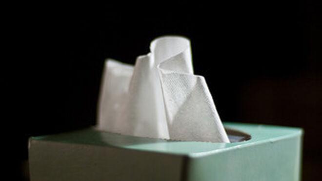 Sube un 7,6% la venta en España de pañuelos de papel
