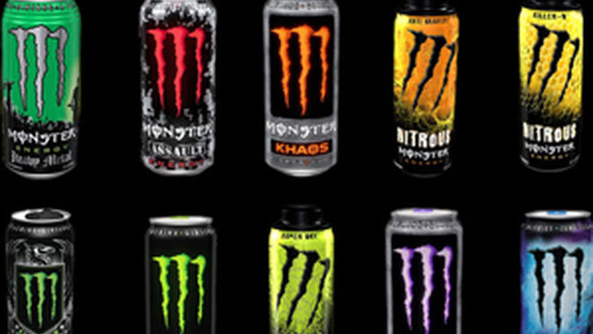 Monster Energy Drink Comerical