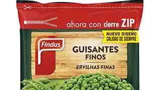 Findus renueva el formato de sus bolsas de verdura congelada