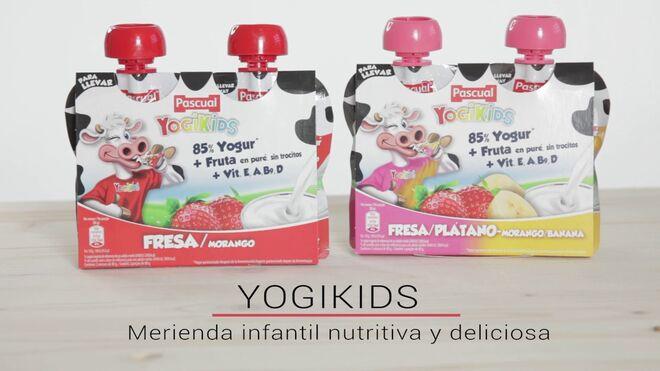 Yogikids, la merienda infantil nutritiva y deliciosa de Calidad Pascual